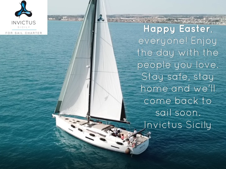 Happy Easter, everyone! Enjoy the day with the people you love. Stay safe, stay home and we'll come back to sail soon. Invictus Sicily